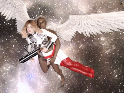 Berseh as Barbarella